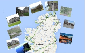mapa trip 1